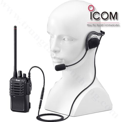 cách sử dụng tai nghe cùng vớimáy bộ đàm icom ic-f4003